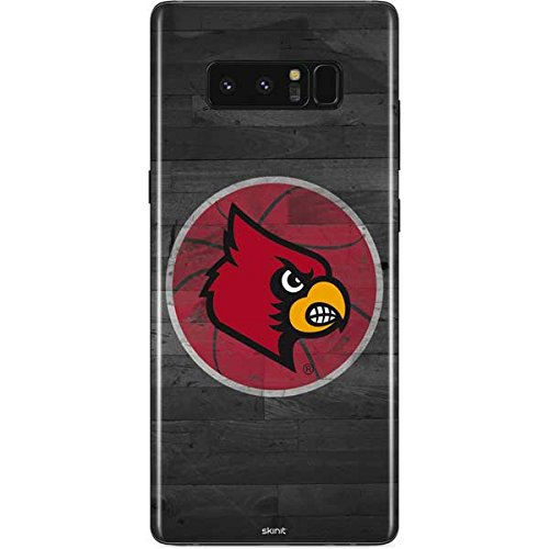 Skinit Louisville Cardinals Basketball Galaxy Note 8 Skin - Officially Licensed College Phone Decal - Ultra Thin, Lightweight Vinyl Decal Protection ()