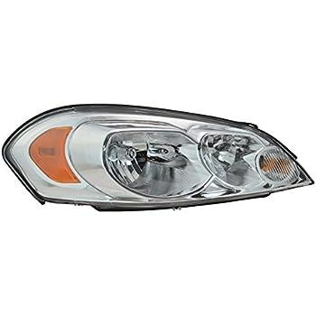 Right Passenger RH 2006-2016 CHEVROLET MONTE CARLO IMPALA Headlight Headlamp