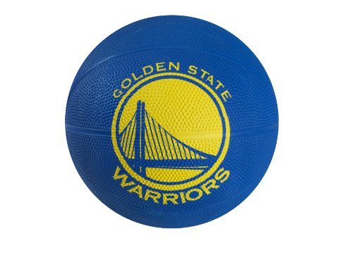 Spalding NBA Golden State Warriors Mini Rubber Basketball (Ball State Basketball)