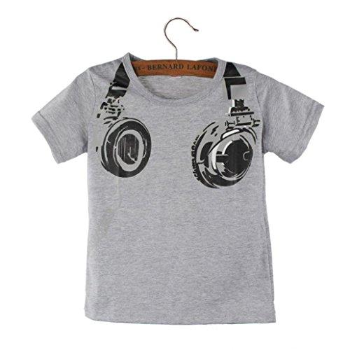 Ecosin Fashion Casual Headphone Blouses