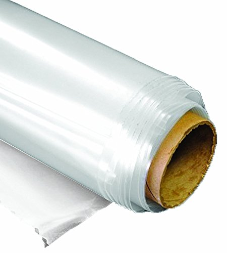 Greenhouse Film Clear 6 mil, 4 year, polyethylene plastic, 10ft x 25ft by Greenhouse Grower Store by Sunview