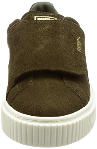 Platform Kaki Basse Donne Bigvelc Suede Puma Sneakers O5zvvq