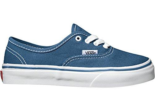 Fourgons Authentiques Chaussures De Sport Unisexe Kinder Bleu Marine / Blanc Vrai