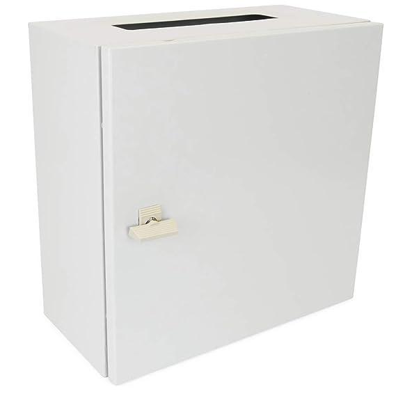 Cablematic - Caja de distribución eléctrica de Metal IP65 para Montaje Pared 300 x 300 x 200 mm: Amazon.es: Electrónica
