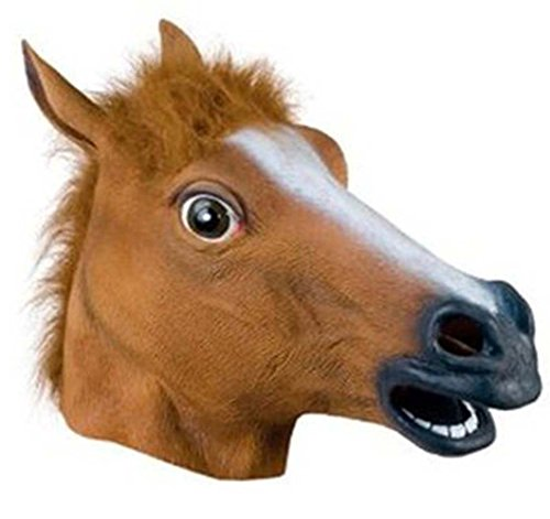 Miyaya@ Funny Animal Masks Collection for Festival or Dance Party(Horse mask)]()