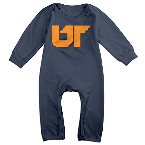 [HOHOE Babys University Of Tennessee System Long Sleeve Jumpsuit Outfits Navy 6 M] (Holiday On Ice Costumes For Sale)