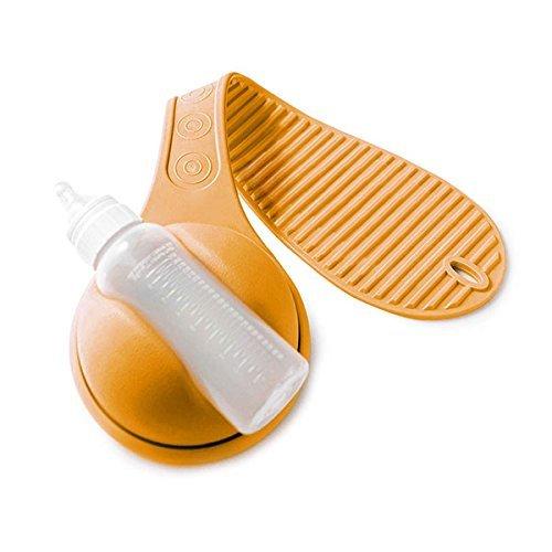 Kshavi Hands Free Baby Milk Bottle Holder,360 Rotation Free Hand ...