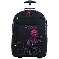Mala Escolar Gl com Rodinhas, DMW Bags, Deadpool, 11379