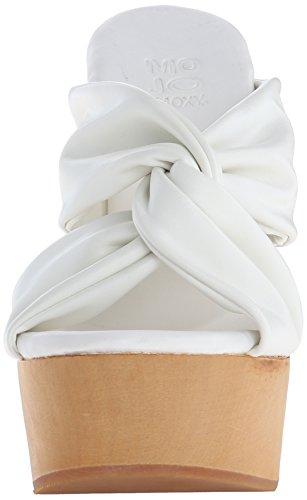 Mally Mojo Platform Women's Moxy White Dress Sandal q8TRE
