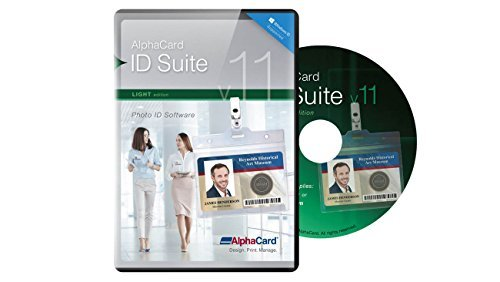 Light Software - AlphaCard ID Suite Light v11: ID Card Software