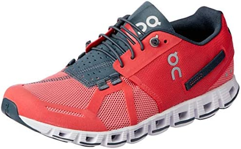 Cloud Running Shoes, Coral/Shadow, 8 AU