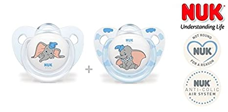 NUK Disney Baby nº 10.570.519 - 2 x Chupete anatómica Sili ...