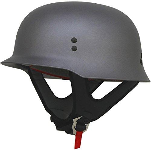 - AFX FX-88 Solid Helmet , Distinct Name: Frost Gray, Gender: Mens/Unisex, Helmet Category: Street, Helmet Type: Half Helmets, Primary Color: Gray, Size: Lg 0103-1079