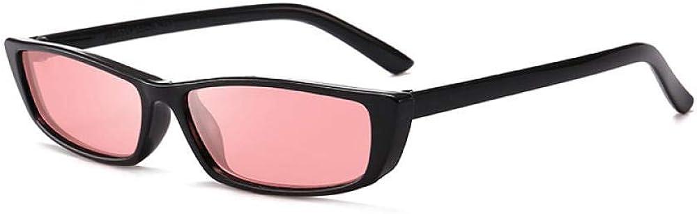 Occhiali Da Sole Moda Occhiali Da Sole Quadrati Occhiali Da Sole Trasparenti Con Personalità Sigillo Vela Montatura Piccola Solid White Gray