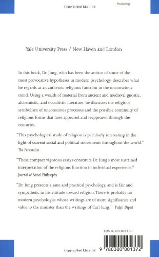 psychology and religion jung summary