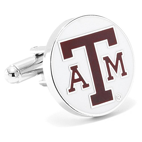 Texas A & M Aggies Cufflinks Novelty 1 x 1in ()
