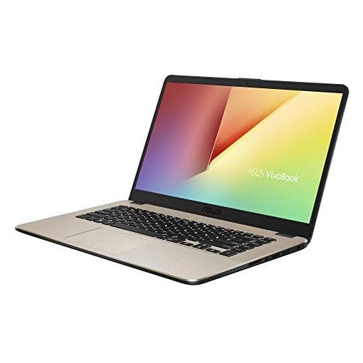 "ASUS VivoBook 15 R505ZA-BR675 - Portátil de 15.6"" HD (AMD Ryzen 5 2500U, 8GB RAM, 256GB SSD, AMD Radeon Vega 8, sin sistema operativo) Metal Oro - Teclado QWERTY Español 2"