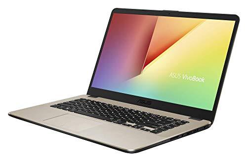 "ASUS VivoBook 15 R505ZA-BR675 - Portátil de 15.6"" HD (AMD Ryzen 5 2500U, 8 GB RAM, 256 GB SSD, AMD Radeon Vega 8, sin sistema operativo) Metal Oro - Teclado QWERTY Español 3"