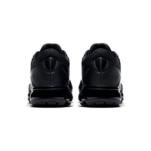 Nike NIKE AIR Vapormax (GS) Laufschuhe, Kinder, NIKE AIR VAPORMAX (GS) Schwarz (Black/Black-Dark Grey-Total Crimson 002)