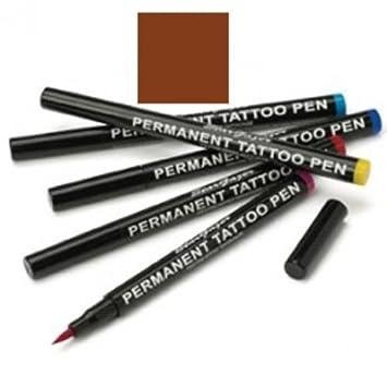 Amazon.com : Stargazer - Semi-Permanent Tattoo Pen - 04 Brown : Beauty