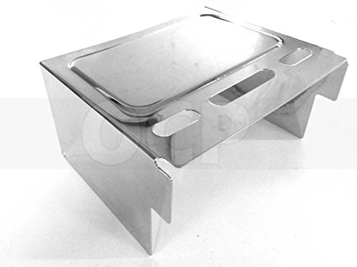 Dyna Chrome Battery - Chrome Battery Cover for Harley Dyna Wide Glide FXDWG 93-96 repl. OEM# 66347-91