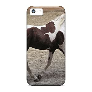 CasePete Case Cover Protector Specially Made For Iphone 5c My Horse