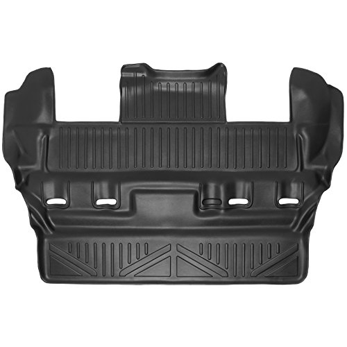 (SMARTLINER Floor Mats 3rd Row Liner Black for 2015-2018 Chevrolet Tahoe/GMC Yukon/Cadillac Escalade)