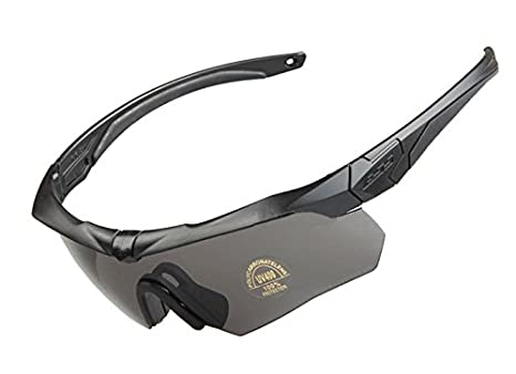 7fefca1c7d Image Unavailable. Image not available for. Color  e-LONG Hot Military  Bullet-Proof CROSSBOW Tactical Goggles Army Sunglasses Eyewear Bicycle  Glasses