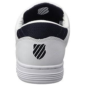 K-Swiss Men's Lozan III TT Leather Sneakers White/Navy US 12