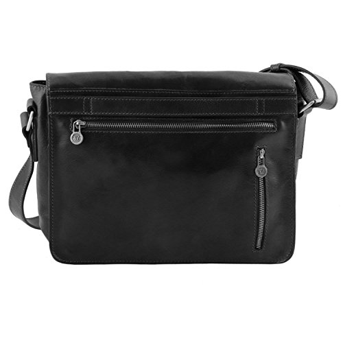 TUSCANY LEATHER, Borsa a spalla donna nero nero Taille Unique