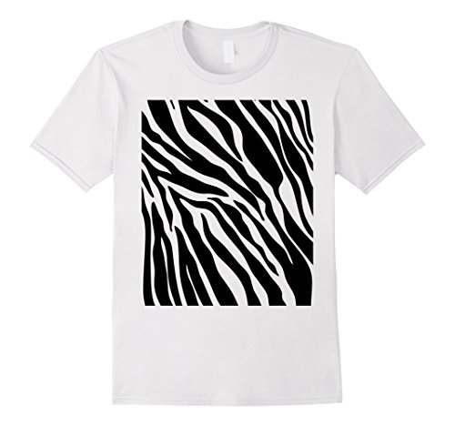Ideas Simple Costume Men's (Mens Zebra Print Shirt, Simple Halloween Costume Idea Gift XL)
