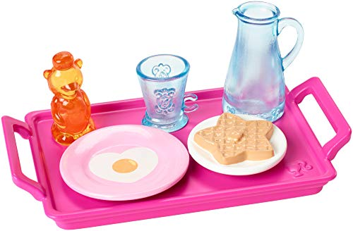 Barbie Breakfast Accessory Pack, 6 Themed Accessories Doll