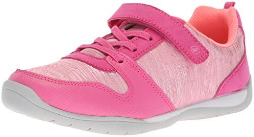 Stride Rite Girls' Avery Sneaker, Pink, 13 M US Little Kid