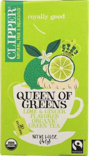 Clipper Tea Queen Of Greens Org 1.41 OZ (Pack of 3)