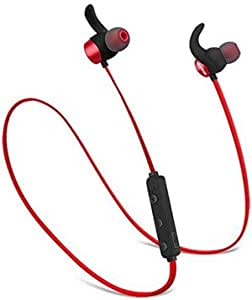 BT08-Red Bluetooth Headset