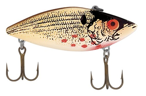 Cotton Cordell Super Spot Fishing Lures, Wounded Shad, 2.5-Inch Cotton Cordell Super Spot