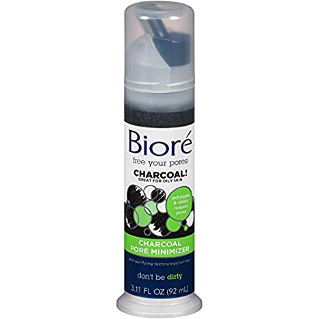Biore Charcoal Pore Minimizer for Oily Skin, 3.11 Ounces O147527