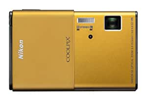Nikon Coolpix S80 14.1 MP Digital Camera with 3.5-Inch OLED Touchscreen and 5x Wide-Angle Zoom Nikkor ED Lens (Gold)
