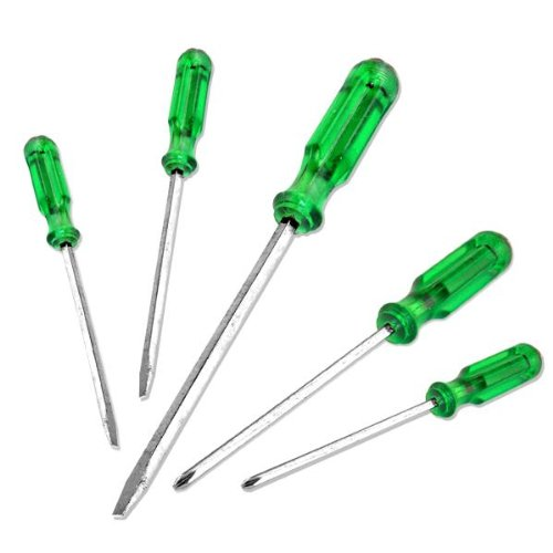 6 pc Go-Through Screwdriver Set ()