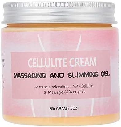 Crema reductora de 200 g, para brazos, cintura, abdomen, masajes corporales, pérdida de peso, tonificante