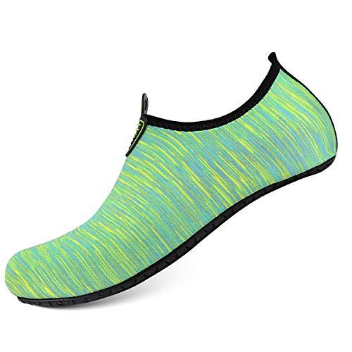 Sports e Aqua for Green Socks Heeta Quick Dry Swim Women Barefoot Shoes Shoes Beach Men Swim Water aFw5wqS