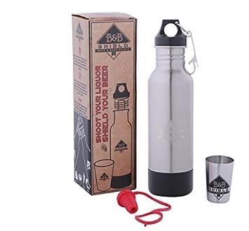 Brew & cerveza escudo: Keeper/Koozie botella de acero inoxidable: aislar, proteger