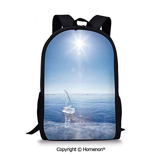 (,design Kids Print Backpack Schoolbag Book Bag Teenagers(17.3