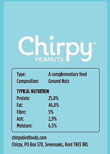 Chirpy Peanuts 1 kg