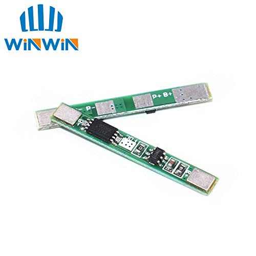 Price comparison product image Muccus I51 1PCS 1S 3.7V 3A li-ion BMS PCM Battery Protection Board pcm for 18650 Lithium ion li Battery