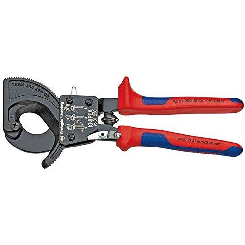 KNIPEX(クニペックス)9531-250 ケーブルカッター(ラチェット式) B07D1M97C9