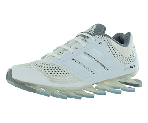 Adidas Springblade Drive Boys Running Shoes Size US 5, Regular Width, Color White/Grey