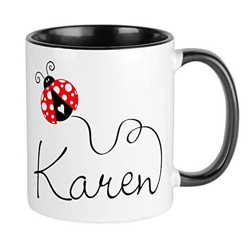 CafePress Ladybug Karen Mug Unique Coffee Mug, Coffee Cup