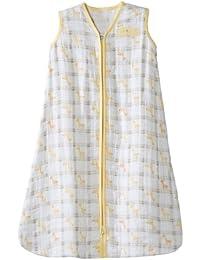 100% Cotton Muslin Sleepsack Wearable Blanket, Giraffe...