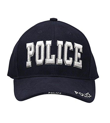 Police Low Profile Cap (Rothco Deluxe Low Profile Police Cap, Navy)
